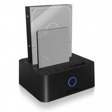 "ICY BOX IB-123CL-U3 JBOD DOCKING AND CLONE STATION 2,5""/3,5"" USB 3.0"