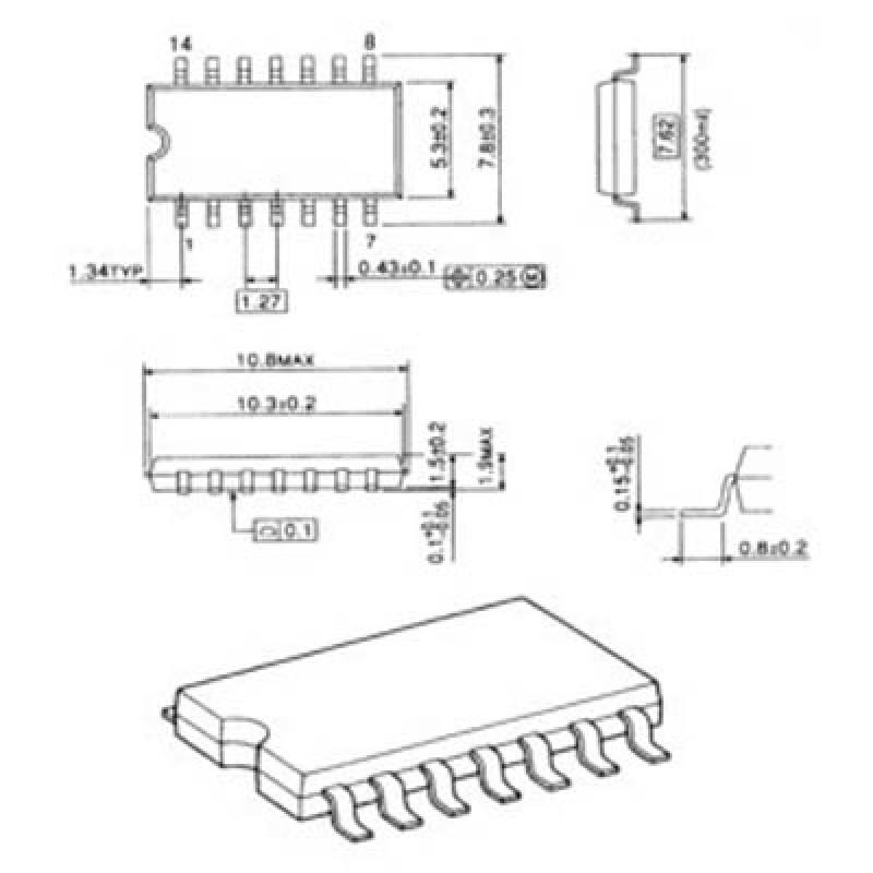 24C 01N SMD IC