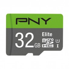 PNY P-SDU32GU185GW-GE32GB MICRO-SD HC CLASS 10/UHS-I  U1+SD ADAPTER