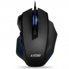 NOD G-MSE-2S NOD GAMING MOUSE BLACK RUBBER 2400DPI