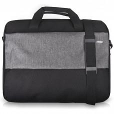 "NOD Style 17.3"" LB-017 Laptop bag up to 17.3, black & grey"