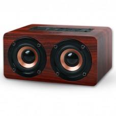 NOD CONCERTO Bluetooth Wooden speaker 2x5W,Brown Red / BTS-300