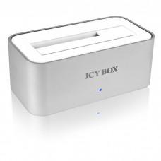 """ICY BOX IB-111StU3-Wh DOCK 2.5""""&3.5"""" SATA HDD USB3.0                     /20705"""