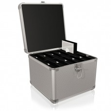 """ICY BOX IB-AC628 TRANSPORT SUITCASE FOR 10x3,5"""" HDDs /70628"""
