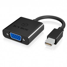 ICY BOX IB-AC539 Mini DP 1.1 to VGA Adapter, black / 60057