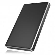 "ICY BOX IB-245-C31-B BLACK EXTERNAL 2.5"" ENCLOSURE SATA HDD/SSD USB 3.1 GEN 2 TY"