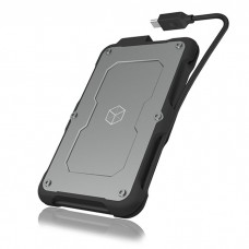 ICY BOX IB-287-C31 USB 3.1 Gen 2 TYPE C ENCLOSURE FOR2.5 SATA HDD/SSD / 60380