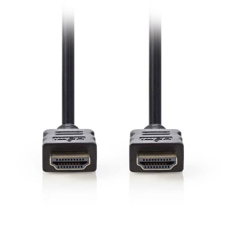 NEDIS CVGP34000BK05 High Speed HDMI, Cable with Ethernet, HDMI, Connector - HDMI