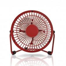 NEDIS FNDK1RD10 Fan 10 cm Diameter USB powered Red